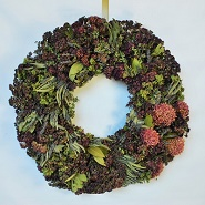 Mixed Herbal Kitchen Wreath