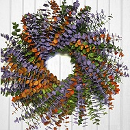 Citrus Delight Eucalyptus Wreath