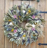JoAnn's Herb Garden Wreath