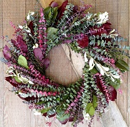 Mulberry Garden Wreath