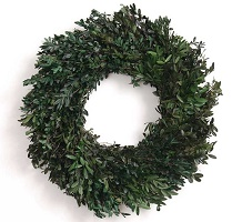 Preserved Oregon Boxwood Wreath