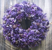 Purple Passion Wreath