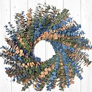 Summer Breeze Eucalyptus Wreath