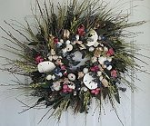 "22"" Cape Cod Seashell Wreath"