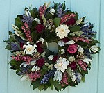 "22""Cottage Garden Wreath"