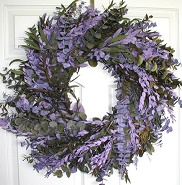 Purple Mountain Wreath