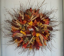 Twiggy Autumn Wreath