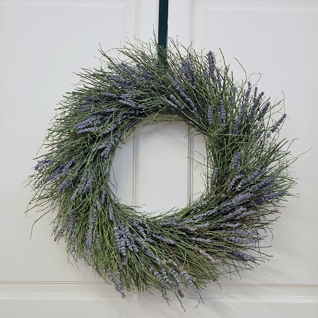 Twigs and Lavender Wreath