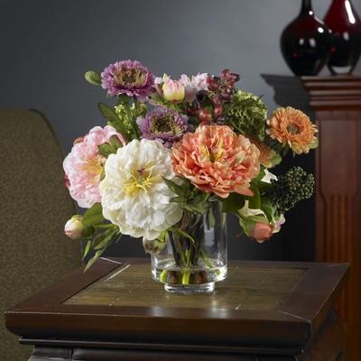 Mixed Peony Floral Arrangement