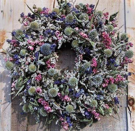 Archertown Wildflower Wreath