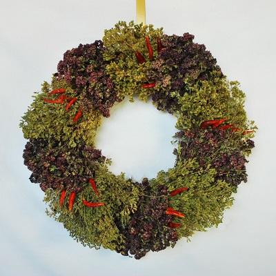 Mama's Herbal Chili Wreath