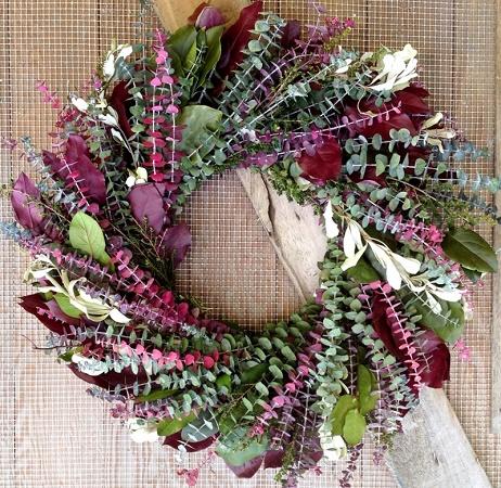 Mulberry Garden Wreath