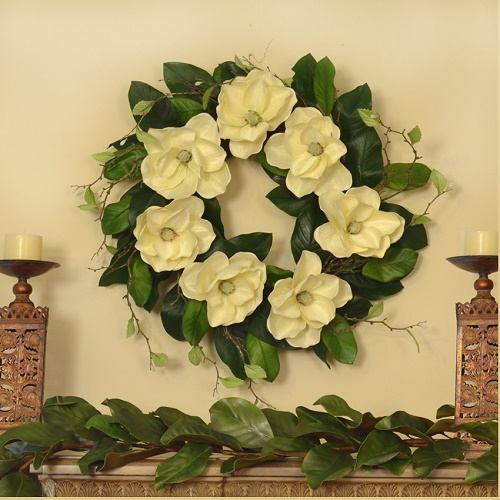 Simply Elegant Magnolia Wreath