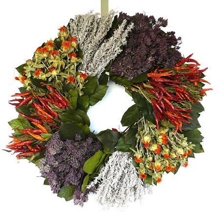 Southwestern Chili Wreath