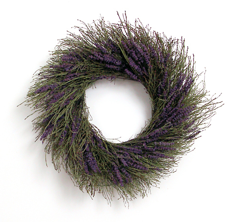 Winterbud & Preserved Lavender Wreath