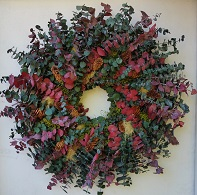 Eucalyptus Holiday Wreath