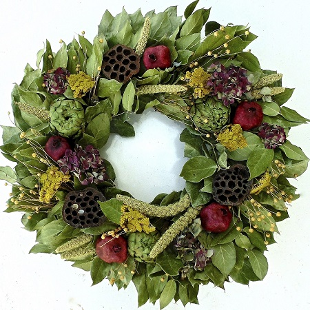 Garden Harvest Wreath