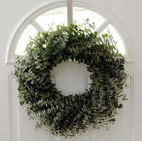Moss Green Eucalyptus Wreath