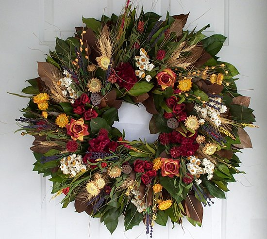"22""Indian Summer Wreath"