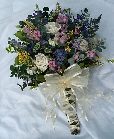 Bridal Flower Bouquet Roses : Wildflower wedding bouquets
