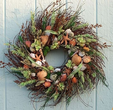 "22"" Seaside Wreath"