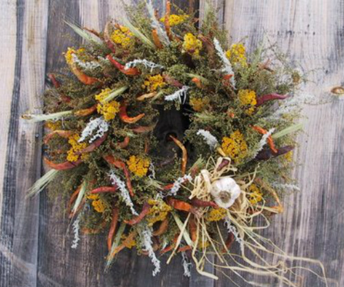 Southwest Kitchen Wreath
