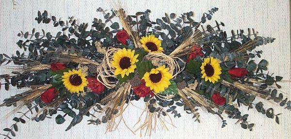 Sunflower & Roses Eucalyptus