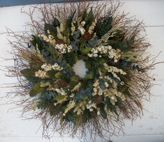 "24""Forest Green Wreath"