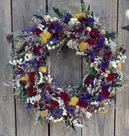Country Garden Wreath