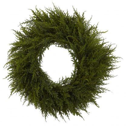 Artificial Cedar Wreath