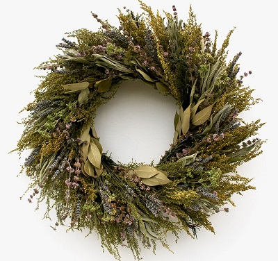 Fragrant Herbal Wreath