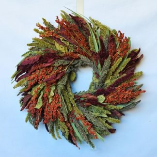 Feathered Friends Wreath