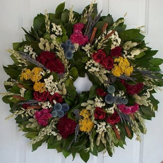 "25"" French Garden Wreath"