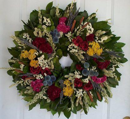"""25"""" French Garden Wreath"""