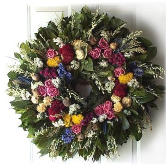 "32""Tammy's Garden Wreath"