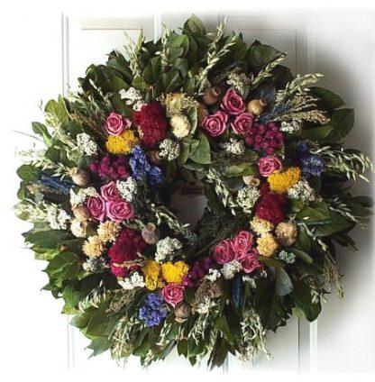 """32""""Tammy's Garden Wreath"""