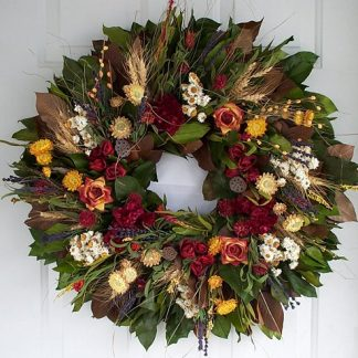 "18"" Indian Summer Wreath"