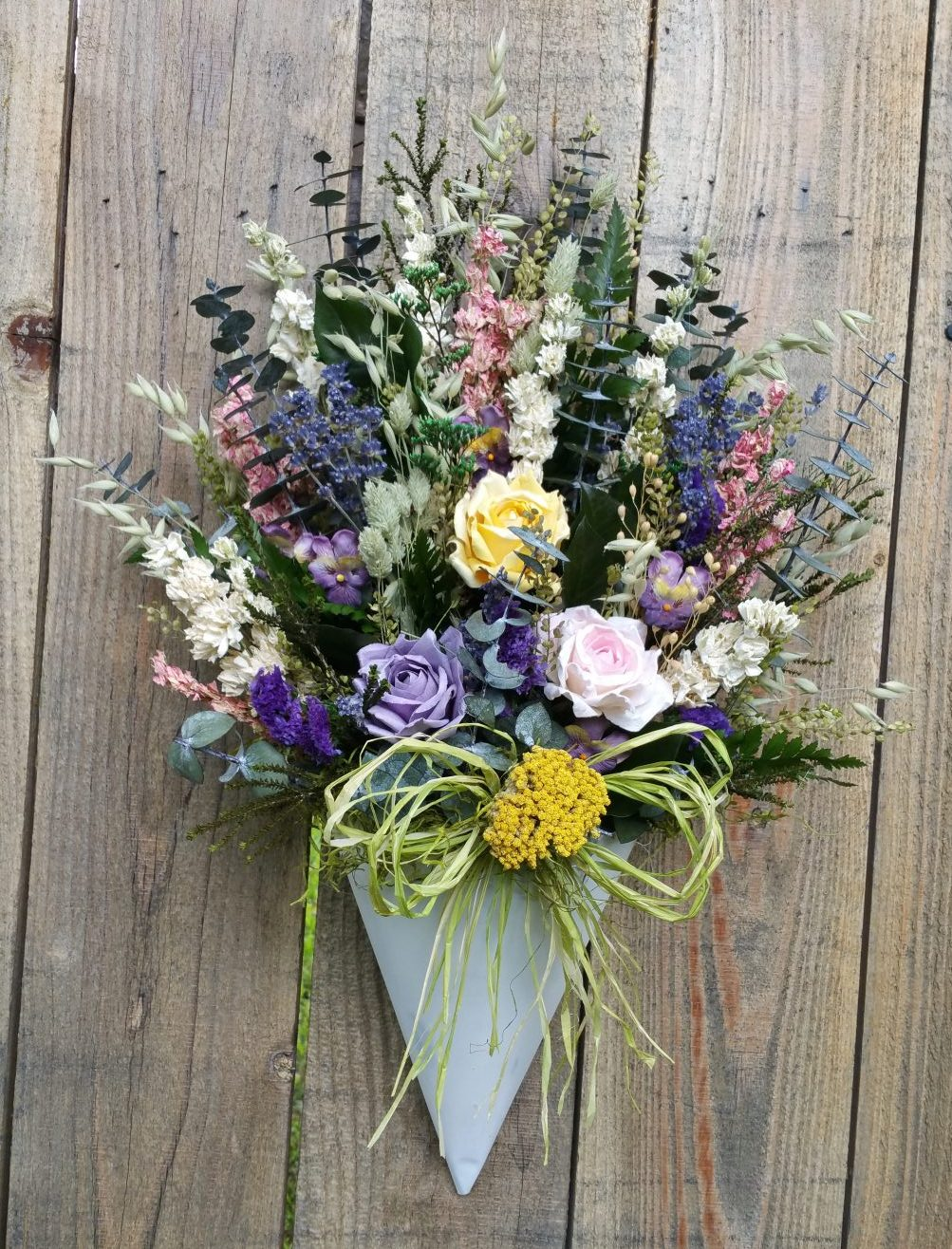 Spring Floral Wall Bouquet Dried Floral Shop